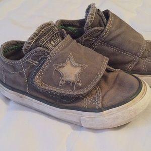 Boys Velcro Converse Shoes